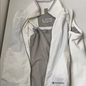 a white vest